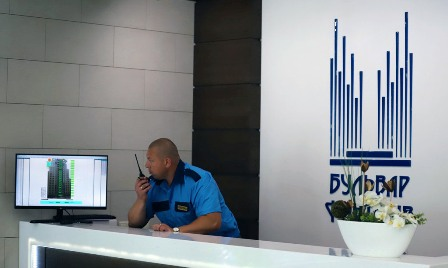 he physical security of the object Kyiv